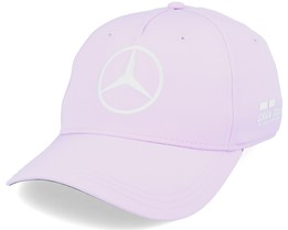 Mercedes Mapm Rp Se Lewis Cap Barcelona Light Purple/White Adjustable - Formula One