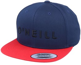 Yambo Ensign Blue/Red Snapback - O'Neill