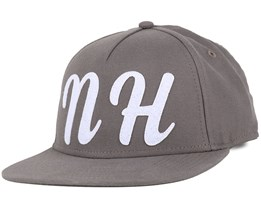 NH Felt Light Charcoal Snapback - Northern Hooligans