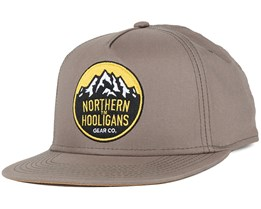 Summit Light Grey Snapback - Northern Hooligans