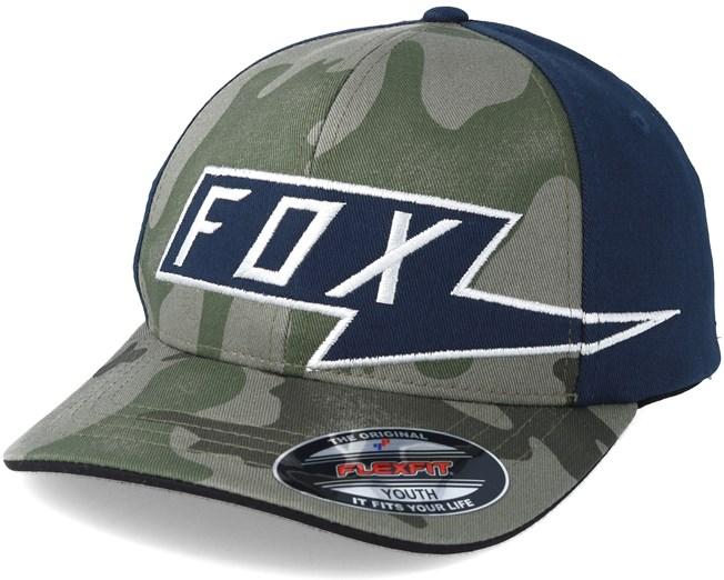 781e04f0998 Youth Amp Camo Flexfit - Fox cap - Hatstore.co.in