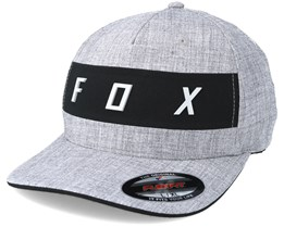 Set in Heather Grey Flexfit - Fox