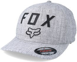 Number 2 Heather Grey Flexfit - Fox