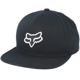 4b26ea1f35cca Moth Black Snapback - Fox caps - Hatstoreworld.com