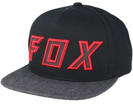 Posessed Black Snapback - Fox