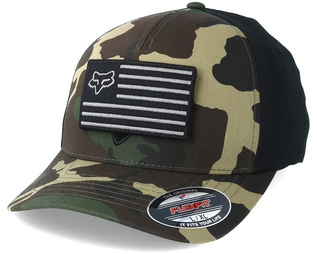 bc03dd2710c Placate Camo Flexfit - Fox caps - Hatstoreworld.com