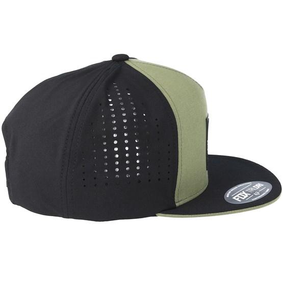 3eb617996f0 Redplate Tech Fat Green Snapback - Fox - Start Kšiltovka - Hatstore.cz