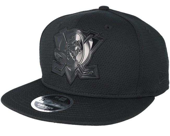 promo code 8b1e6 1deed Anaheim Ducks Tonal Logo Weld Black Snapback - New Era caps ...