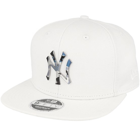 9bc0d2e878b New York Yankees Camo Metal Logo White Snapback - New Era caps ...