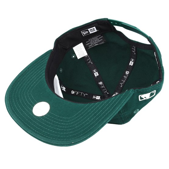fc116058df405 Oakland Athletics Chain Stitch Green Snapback - New Era cap - Hatstore.ch
