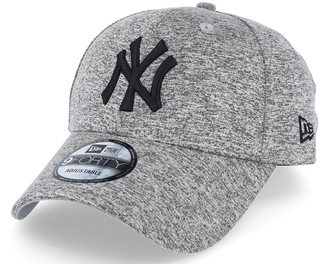 New York Yankees Tech Jersey 9Forty Grey Black Adjustable - New Era keps -  Hatstore.se 16a5884b01339