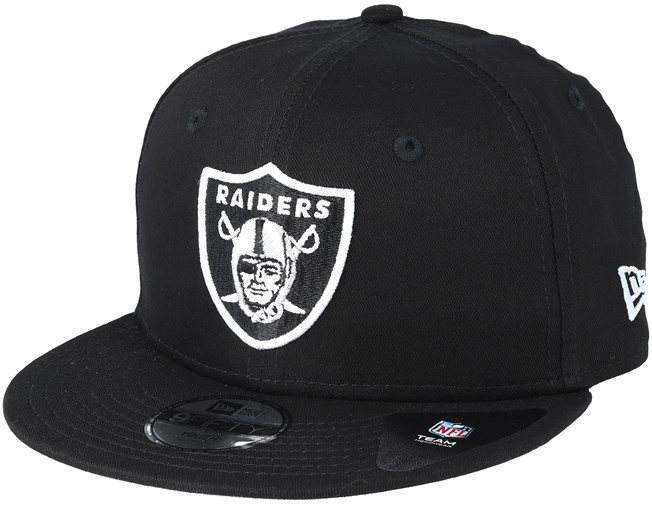 the best attitude e96dd c4611 Kids Oakland Raiders Team Classic Jr Black Snapback - New Era caps ...