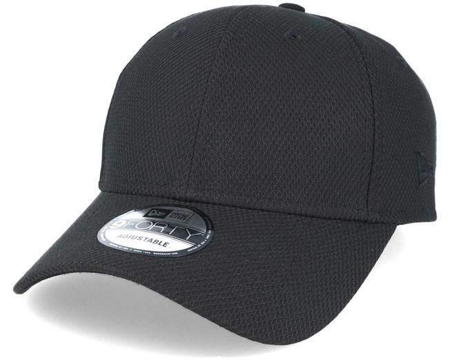db9c019c627 Diamond Essential 9Forty Black Adjustable - New Era caps