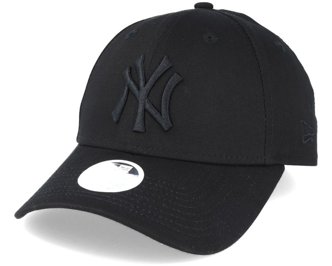 New York Yankees League Essential Women Black Adjustable - New Era ... 8bee983df5d