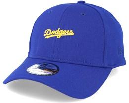 Los Angeles Dodgers Edge Pique 9Forty Blue Adjustable - New Era