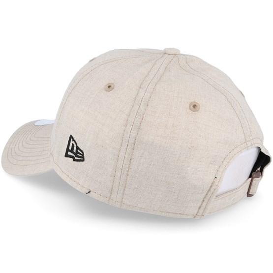 44e1823e902 New York Yankees Linen Small Logo Beige Adjustable - New Era caps ...