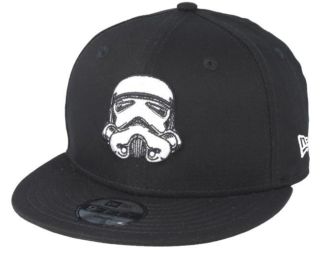 e64a5a7927 Kids Star Wars Ess 950 Jr Stormtrooper Black Snapback - New Era caps -  Hatstoreaustralia.com