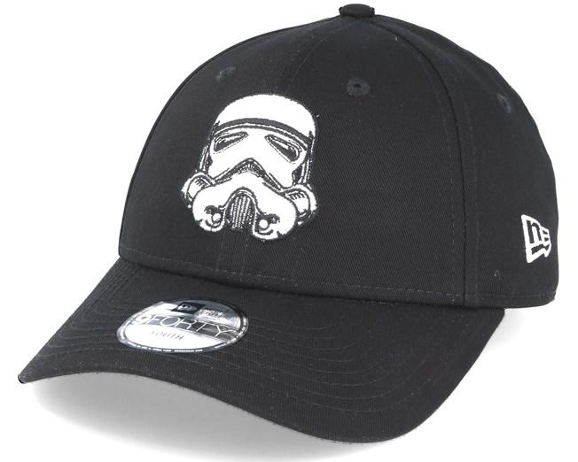 fa0603cc01 Kids Star Wars Ess 940 Jr Stormtrooper Black Adjustable - New Era caps -  Hatstoreworld.com