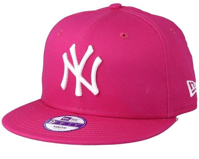 promo code 60f50 5cc97 Kids NY Yankees League Basic Hot Pink 9Fifty Snapback - New Era caps -  Hatstoreaustralia.com