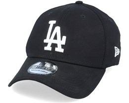 b217b527a6796 Los Angeles Dodgers League Essential 39Thirty Black White Flexfit - New Era
