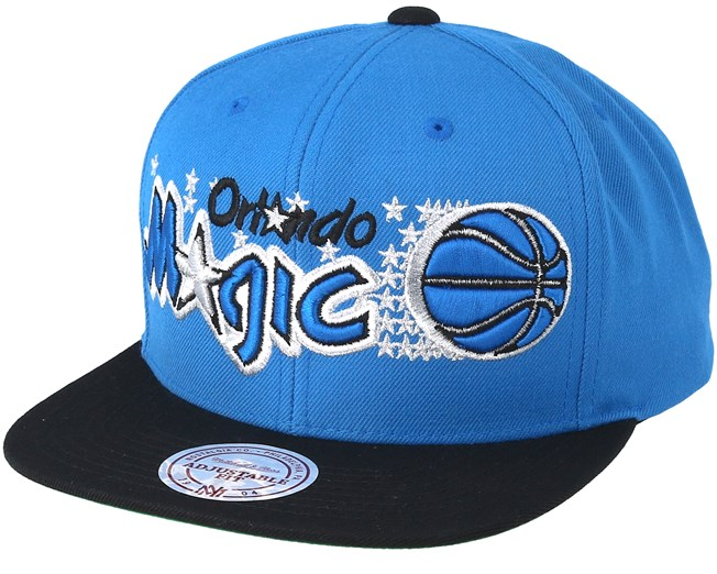 Orlando Magic XL Logo 2 Tone Navy Blue Snapback - Mitchell   Ness - Start  Cappellino - Hatstore 06bf7bec0e93