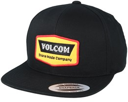 Cresticle Black/Yellow Snapback - Volcom