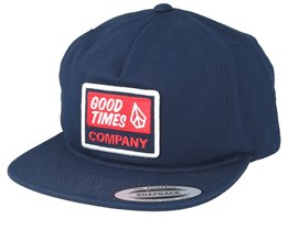 Righteous Indigo Snapback - Volcom