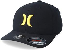 Dri-Fit 2.0 Black/Yellow Flexfit - Hurley