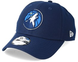 Minnesota Timberwolves The League 9Fifty Navy Adjustable - New Era