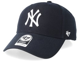 best service 24178 0ca3b NY Yankees Mvp Home Navy White Adjustable - 47 Brand