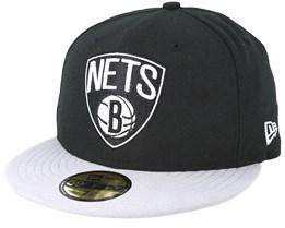 Brooklyn Nets Basic Black Fitted - New Era