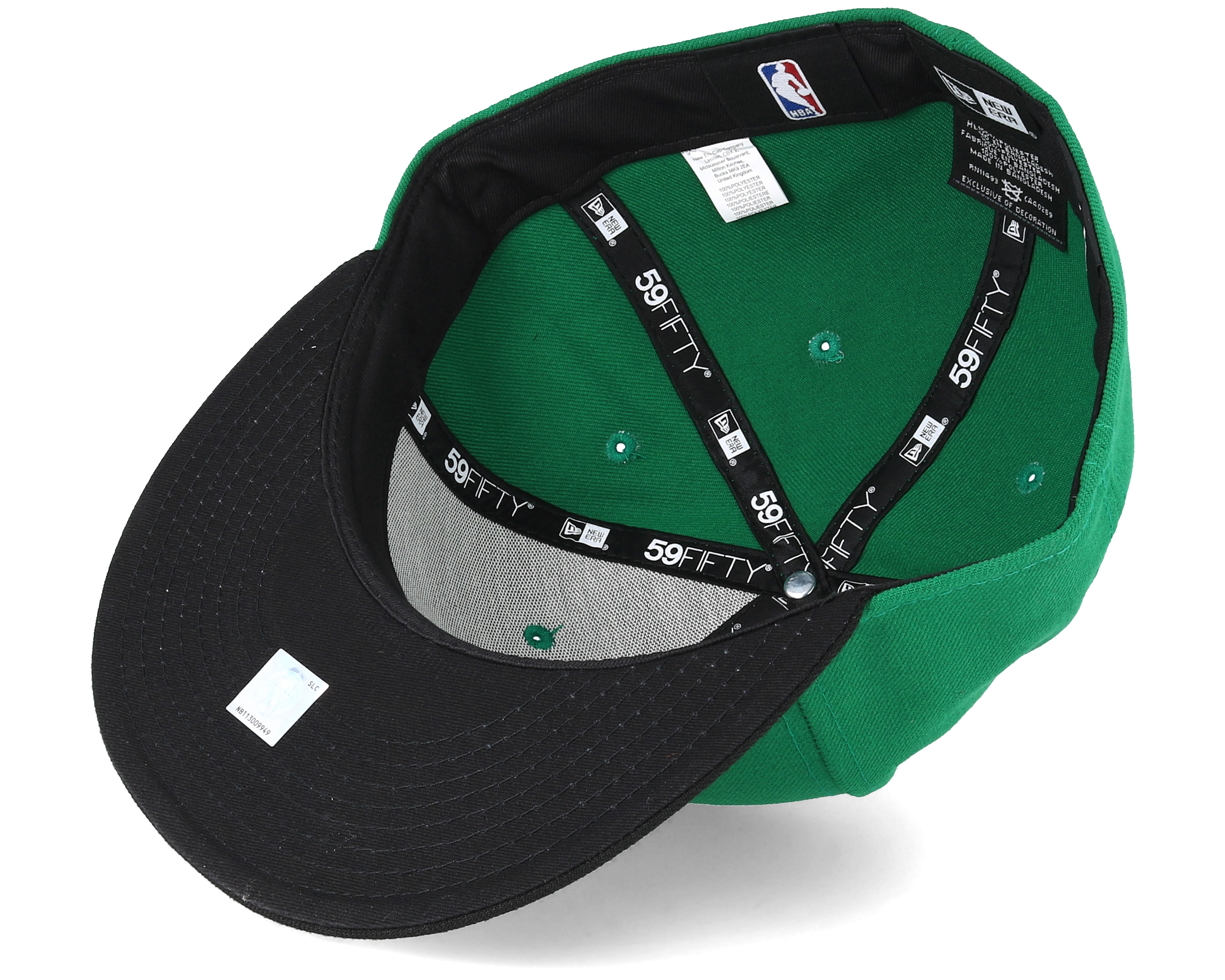 sale retailer 122f4 13020 Boston Celtics Basic Green 59Fifty Fitted - New Era cap - Hatstore.co.in