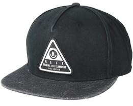 X Wash Black/Black Snapback - Neff
