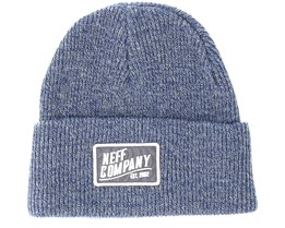 Station Grey/Navy Beanie - Neff