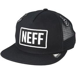c5f6098c679 Waco Trucker Tennis Black Snapback - Neff caps