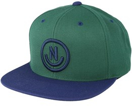 Daily Smile Forest/Navy Snapback - Neff