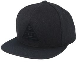 Melton Black/Black Snapback - Neff