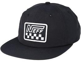 Racer Cap Black Strapback - Neff
