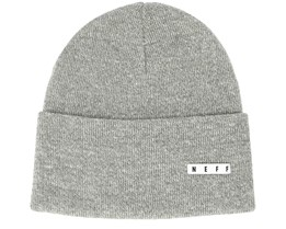 Lawrence Heather Grey Beanie - Neff