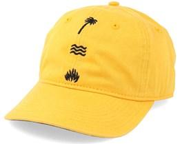 Psychie Dad Cap Yellow Adjustable - Neff