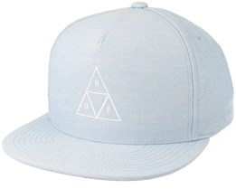 Triple Triangle Blue Snapback - Huf