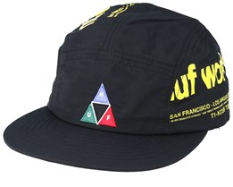 Boulevard Volley Black 5-Panel - HUF
