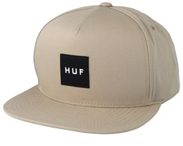Essentials Box Sand Snapback - HUF