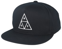 Essentials TT Black Snapback - HUF