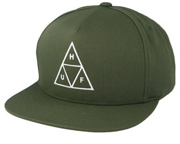 Essentials TT Green Snapback - HUF