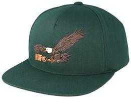 Wing Span Botanical Green Snapback - HUF