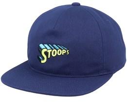 Stoops Navy Blazer Snapback - HUF