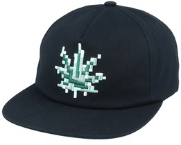 Censored Black Snapback - HUF