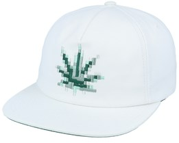 Censored Hat White Snapback - HUF
