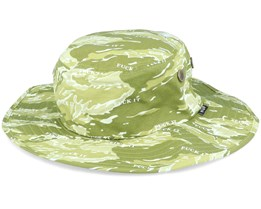 Fuck It Tiger Camo Boonie Dusty Olive Bucket - HUF